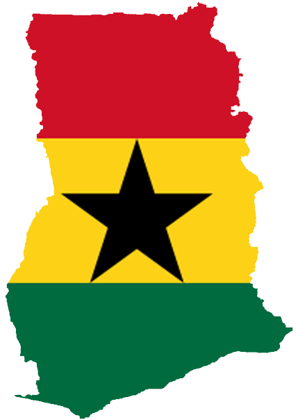 Flag of the Rogue State of Ghana