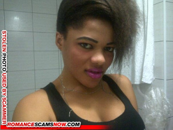 SCARS|RSN™ Scammer Gallery: African Beauties - Real & Fake Female Scammers #9243 36
