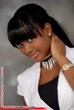 SCARS|RSN™ Scammer Gallery: African Beauties - Real & Fake Female Scammers #9243 19