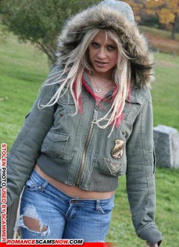 Scammer Gallery: Blonde Scammer Photos - Part 2 94