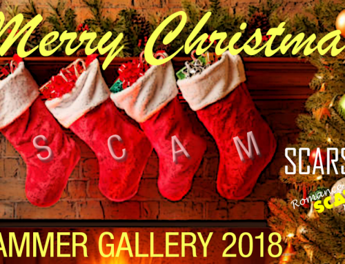 SCARS|RSN™ Christmas Gallery of Scammers 2018