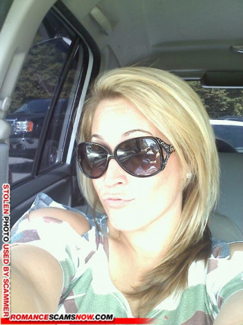 Scammer Gallery: Blonde Scammer Photos - Part 2 5