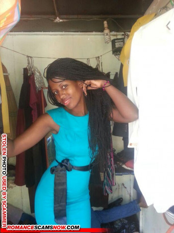 SCARS|RSN™ Scammer Gallery: African Beauties - Real & Fake Female Scammers #9243 48