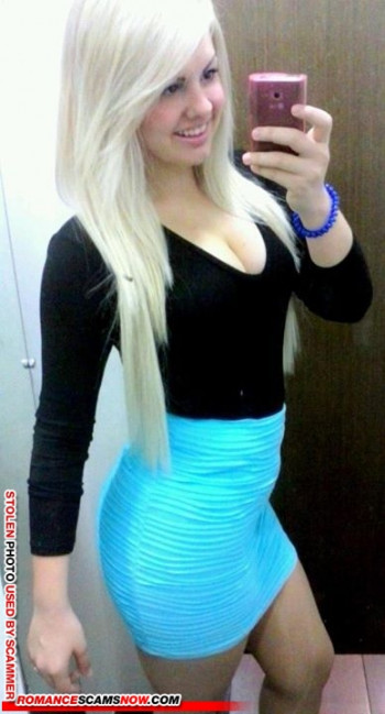 Scammer Gallery: Blonde Scammer Photos - Part 1 107