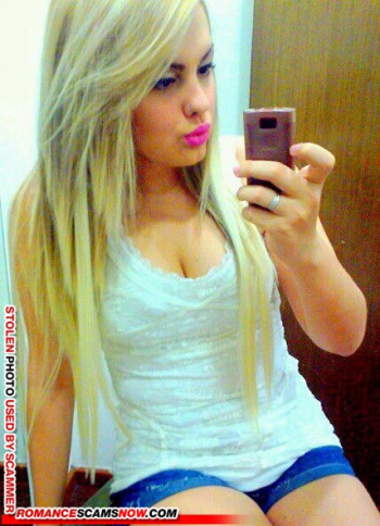 Scammer Gallery: Blonde Scammer Photos - Part 1 112