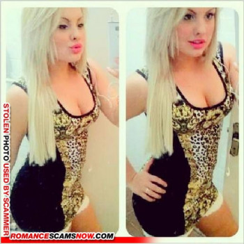 Scammer Gallery: Blonde Scammer Photos - Part 1 75