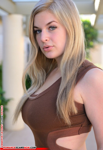 Scammer Gallery: Blonde Scammer Photos - Part 2 43