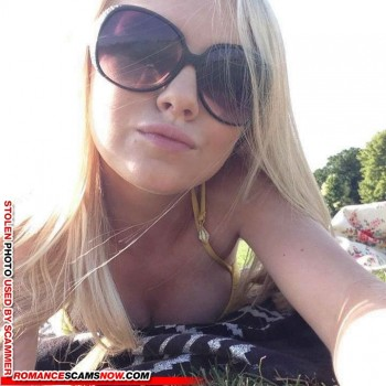 Scammer Gallery: Blonde Scammer Photos - Part 1 125