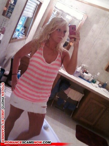 Scammer Gallery: Blonde Scammer Photos - Part 1 83