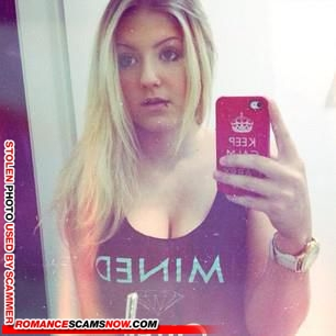 Scammer Gallery: Blonde Scammer Photos - Part 1 110