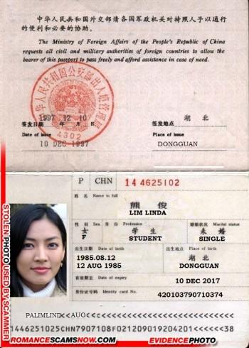 Linda Lim - limlinda85@gmail.com - China