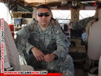 SCARS|RSN™ Scammer Gallery: Military Scammers #7552 3