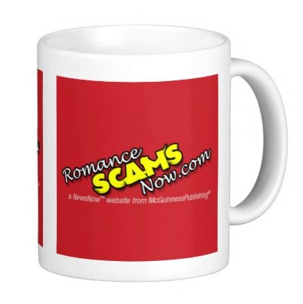 Romance Scams Now Shop Original Mug