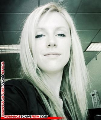 Scammer Gallery: Blonde Scammer Photos - Part 2 2