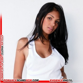 STOLEN IDENTITY:  Karla Spice Lopez - Favorite Of African Scammers 39