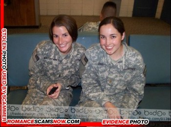 SCARS|RSN™ Military Scammer Gallery: Service Men & Women #10150 9