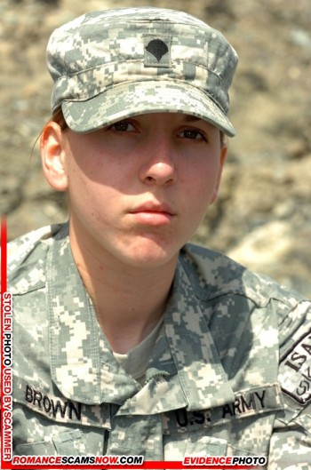 SCARS|RSN™ Military Scammer Gallery: Service Men & Women #10150 3