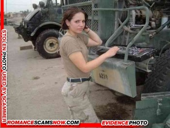 SCARS|RSN™ Military Scammer Gallery: Service Men & Women #10150 11