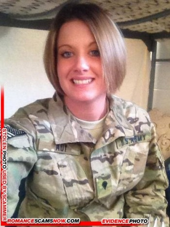 SCARS|RSN™ Military Scammer Gallery: Service Men & Women #10150 14