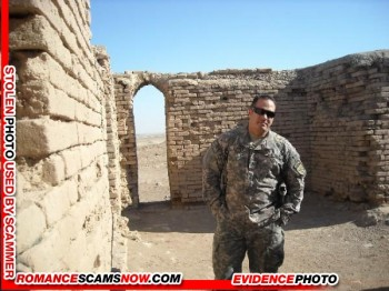 SCARS|RSN™ Military Scammer Gallery: Service Men & Women #10150 17