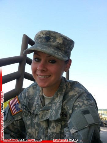 SCARS|RSN™ Military Scammer Gallery: Service Men & Women #10150 12