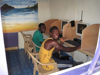 SCARS|RSN™ Scammer Gallery: Accra Ghana Internet Cafes 9