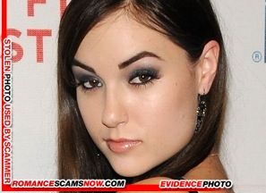 KNOW YOUR ENEMY:  Do You Know This Girl?  Sasha Grey, a Favorite Of African Scammers 4