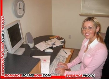SCAMMER GALLERY: Female Fake Faces 16