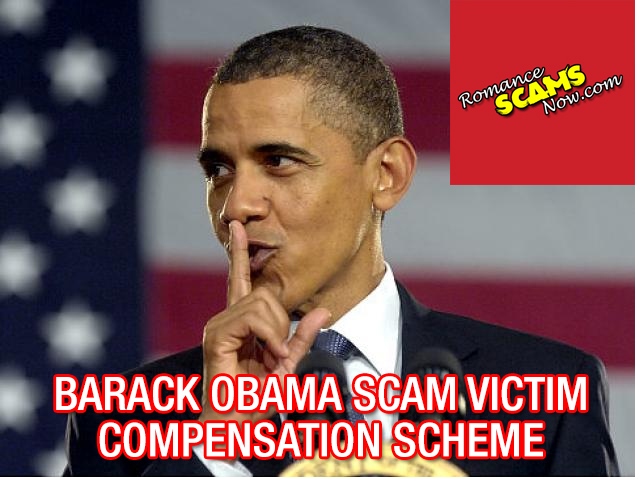 FROM THE OFFICE OF THE BARACK OBAMA SCAM VICTIM COMPENSATION SCHEME