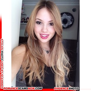 KNOW YOUR ENEMY: Bianca Montes - Do You Know This Girl? A Favorite Of African Scammers 7