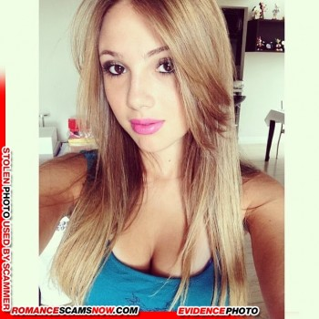 KNOW YOUR ENEMY: Bianca Montes - Do You Know This Girl? A Favorite Of African Scammers 13