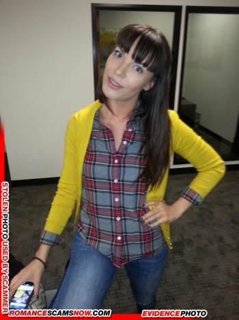 KNOW YOUR ENEMY:  Dana DeArmond  - Do You Know This Girl?  She's a Favorite Of African Scammers 56