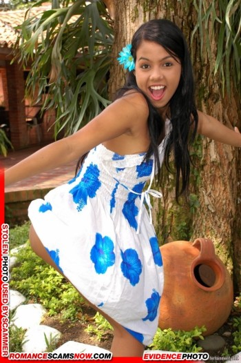 KNOW YOUR ENEMY:  Gigi Spice - Do You Know This Girl? A Favorite Of African Scammers 30