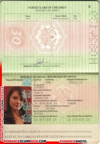 RSN™ Scammer Gallery: Fake Ghanaian Documents 2