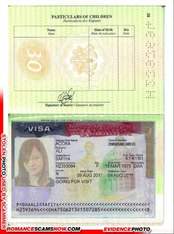 RSN™ Scammer Gallery: Fake Ghanaian Documents 3