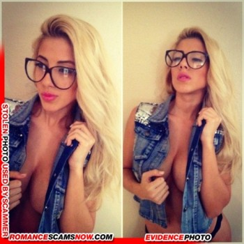KNOW YOUR ENEMY: Valeria Orsini - Do You Know This Girl? A Favorite Of African Scammers 36