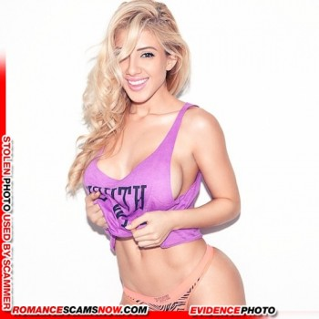 KNOW YOUR ENEMY: Valeria Orsini - Do You Know This Girl? A Favorite Of African Scammers 12