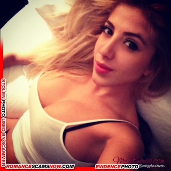 KNOW YOUR ENEMY: Valeria Orsini - Do You Know This Girl? A Favorite Of African Scammers 3