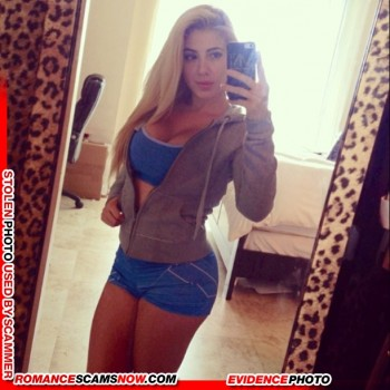 KNOW YOUR ENEMY: Valeria Orsini - Do You Know This Girl? A Favorite Of African Scammers 16