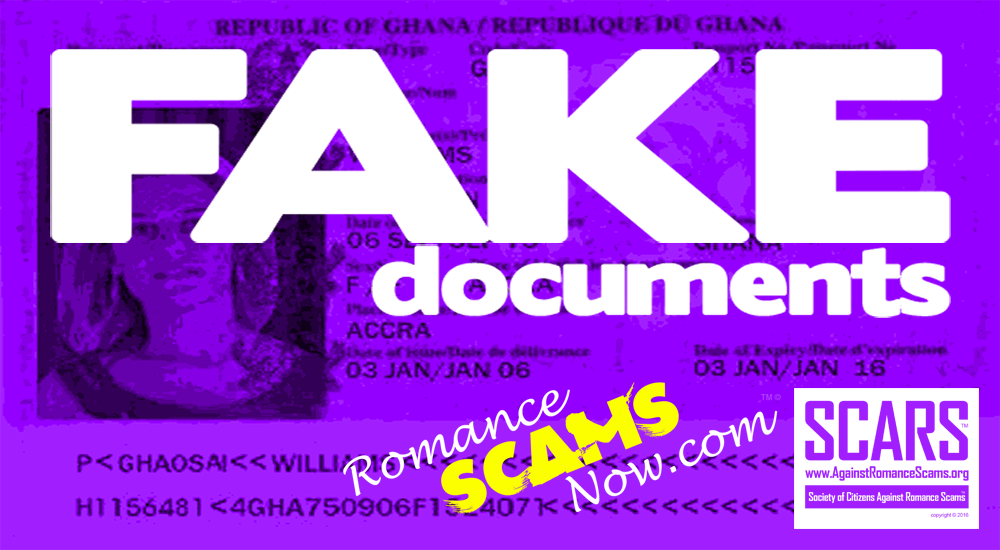 SCARS|RSN™ Scammer Gallery: Fake Scammer Documents - Ivory Coast #18740 1