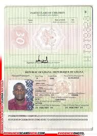 Scam Ghana Passport H1918959