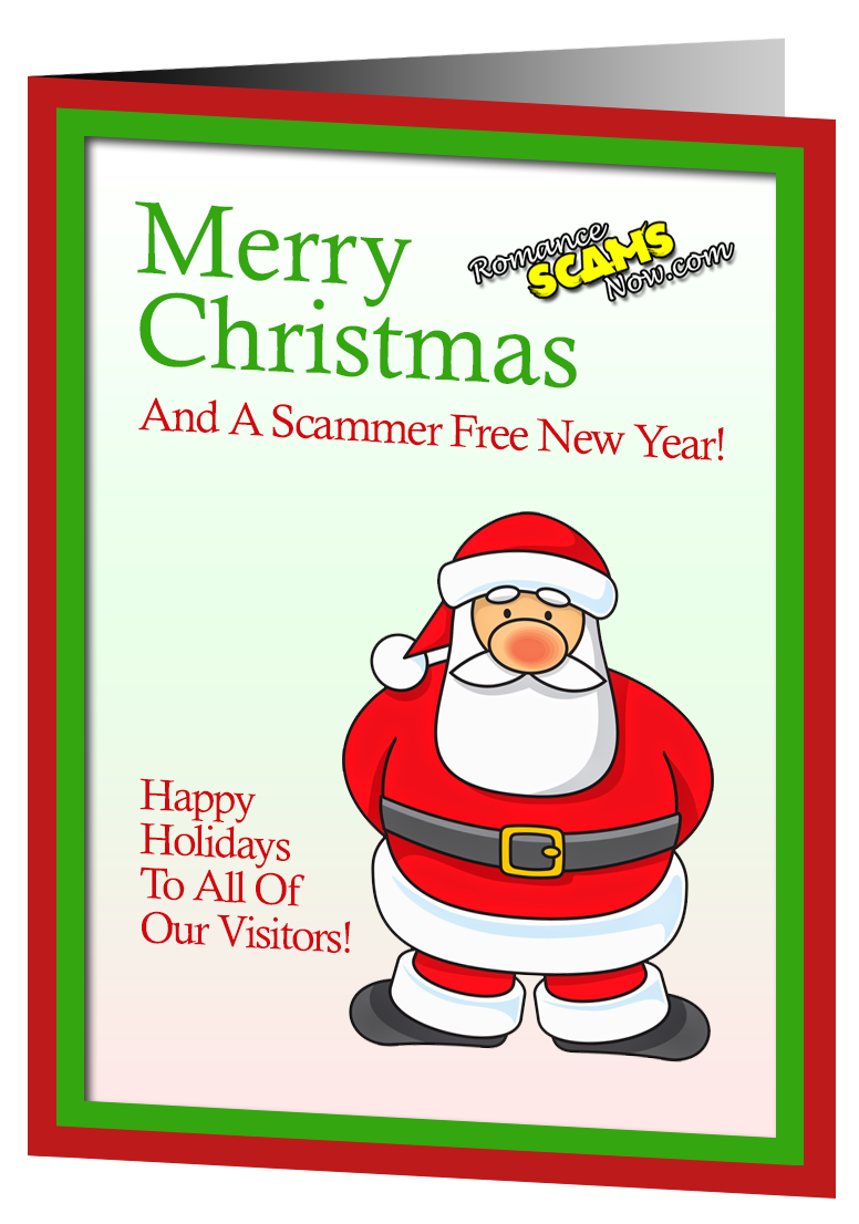 Merry Christmas & Happy New Year from Romance Scams Now