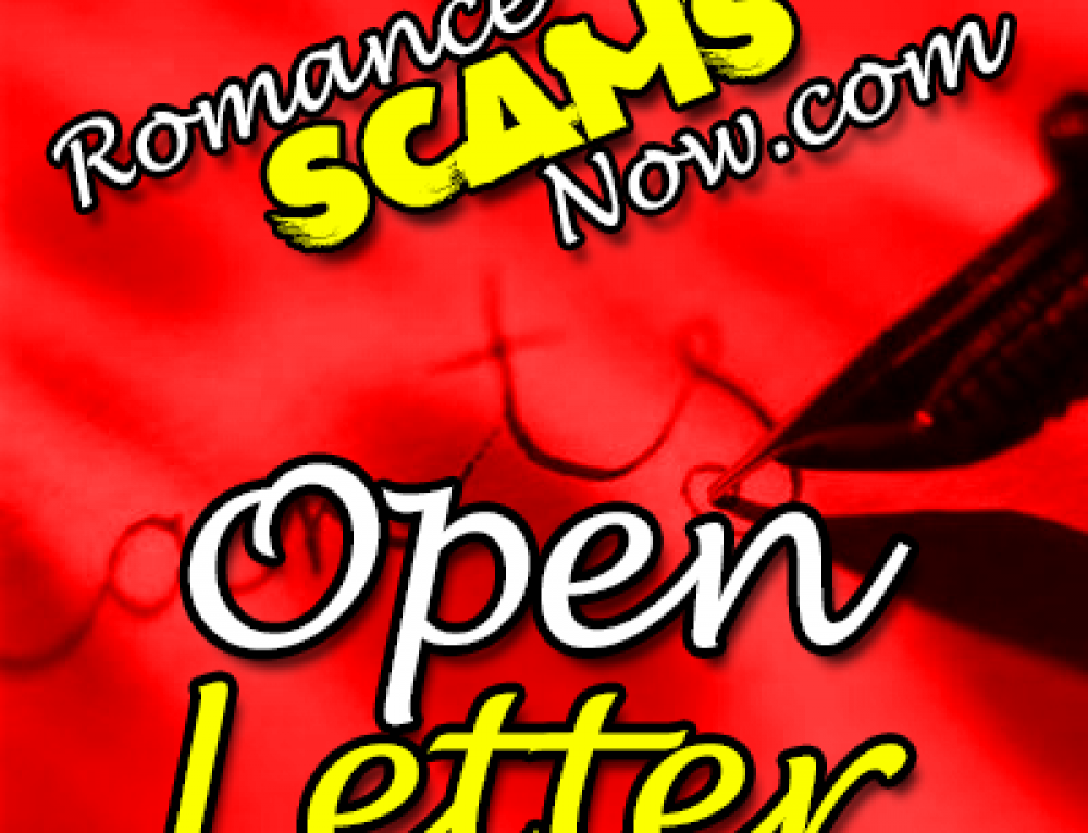 Open Letter To The Online Dating Industry