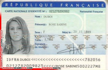 SCARS|RSN™ Scammer Gallery: Fake Scammer Documents - Ivory Coast #18740 6