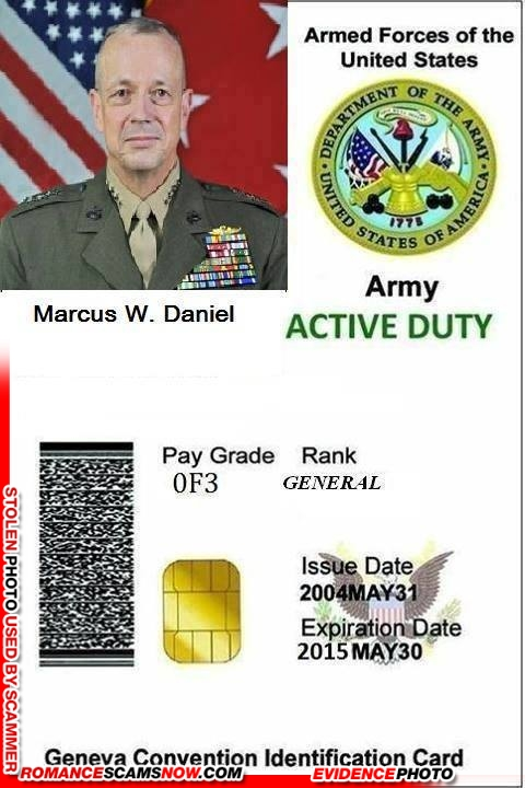 marine dating scams