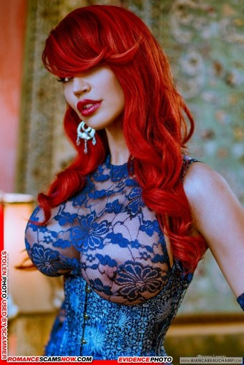 KNOW YOUR ENEMY: Bianca Beauchamp - Another Favorite Of African Scammers 28