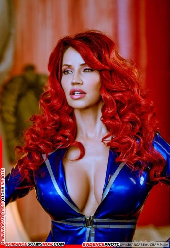 KNOW YOUR ENEMY: Bianca Beauchamp - Another Favorite Of African Scammers 13
