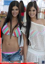 KNOW YOUR ENEMY: Mariana And Camila Davalos Twins - Favorites Of African Scammers 29