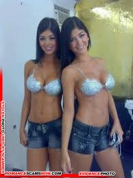 KNOW YOUR ENEMY: Mariana And Camila Davalos Twins - Favorites Of African Scammers 1