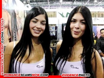 KNOW YOUR ENEMY: Mariana And Camila Davalos Twins - Favorites Of African Scammers 13